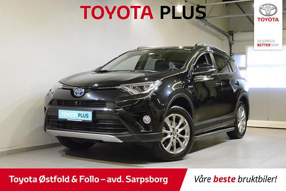 Toyota RAV4 Hybrid AWD Executive , MYE UTSTYR/H.FESTE,  2018, 15400 km, kr 445000,-