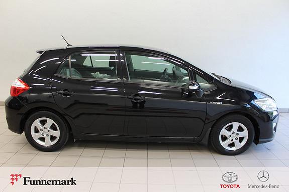 Toyota Auris 1,8 Hybrid Advance HSD 136hk Aut Navi Ryggek. Bluet. mm  2012, 93000 km, kr 109000,-