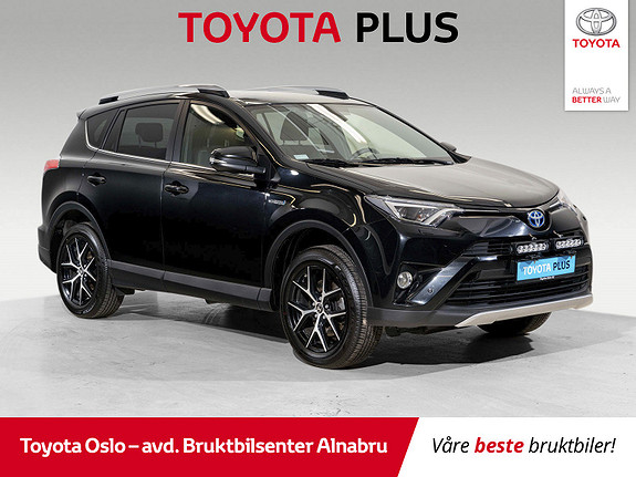 Toyota RAV4 Hybrid AWD Active Style Hengerfeste  2018, 30394 km, kr 426000,-