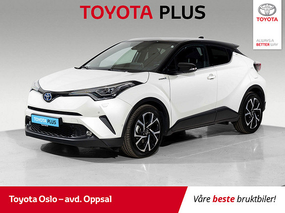 Toyota C-HR 1,8i Hybrid Lounge Tech  2018, 20336 km, kr 338900,-