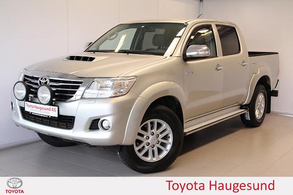 Toyota HiLux D-4D 143hk D-Cab 4WD SR5  2013, 200548 km, kr 209000,-