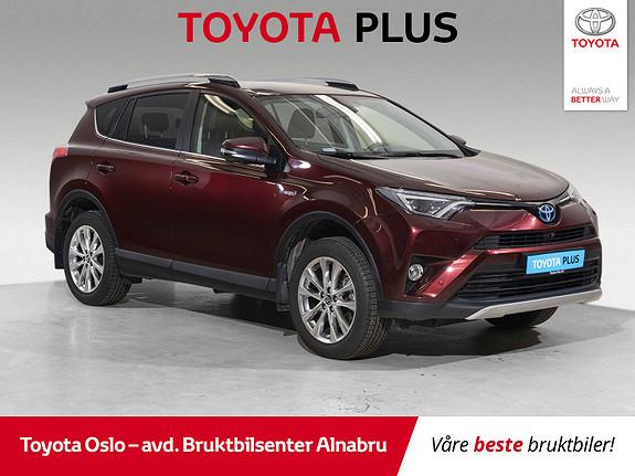 Toyota RAV4 Hybrid AWD Executive Lav kilometer, hengerfeste ,  2017, 10050 km, kr 420000,-