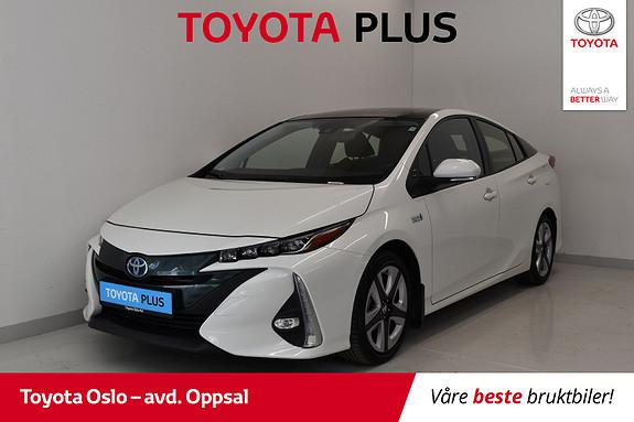 Toyota Prius Plug-in Hybrid 1,8 VVT-i Solar PHV Ladbar hybrid  2017, 37757 km, kr 268900,-