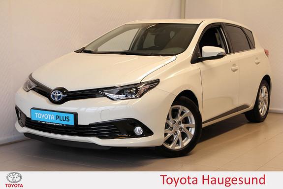 Toyota Auris 1,8 Hybrid E-CVT Sport Vision  2018, 4550 km, kr 269000,-