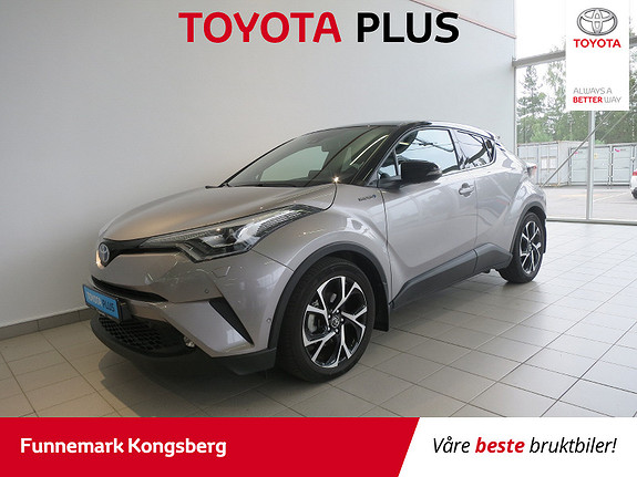 Toyota C-HR 1,8 WT-i Hybrid Dynamic Tech  2017, 27300 km, kr 299900,-