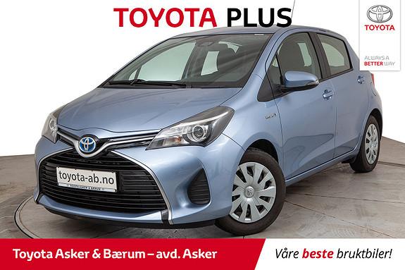 Toyota Yaris 1,5 Hybrid Active S e-CVT  2016, 55000 km, kr 149000,-