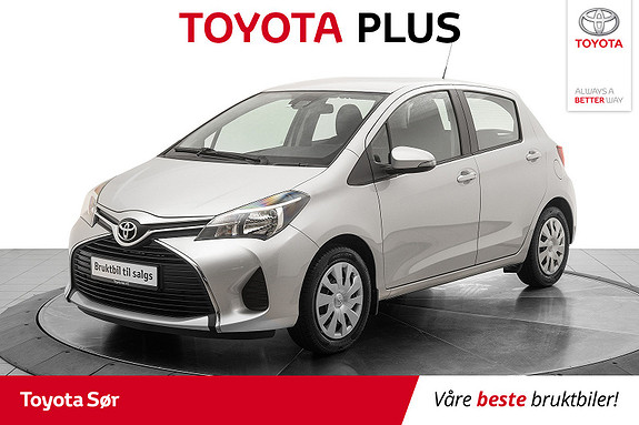 Toyota Yaris 1,0 Active S  2016, 45 494 km, kr 135 000,-