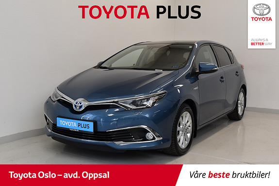 Toyota Auris 1,8 Hybrid E-CVT Executive Glasstak, Skinn,  2016, 30321 km, kr 223900,-