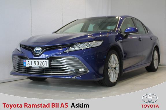 Toyota Camry Hybrid Platinum  2019, 6000 km, kr 495000,-