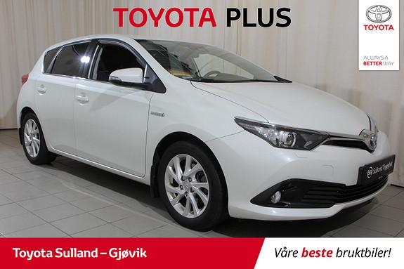 Toyota Auris 1,8 Hybrid E-CVT Active Sport Navi-ryggekamera-dab+  2018, 50200 km, kr 244000,-
