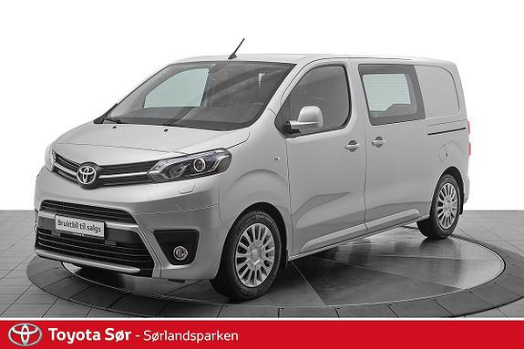 Toyota Proace 1,6 D 116 Comfort L1H1 m/ryggekamera og hengerfeste  2018, 17383 km, kr 269000,-