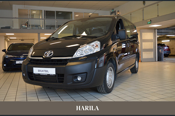 Toyota Proace 2,0 128hk L1H1 (m/bakluke)  2014, 28382 km, kr 155000,-