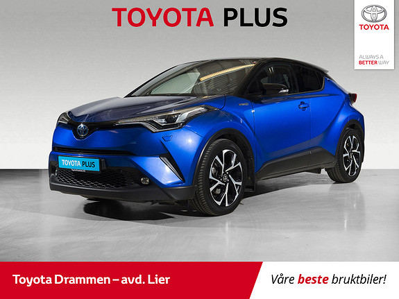 Toyota C-HR 1,8i Hybrid Dynamic Tech  2018, 45550 km, kr 299000,-