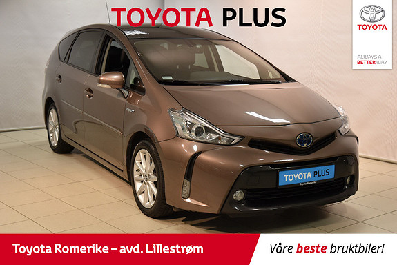 Toyota Prius+ Seven 1,8 VVT-i Hybrid Premium 7 seter  2016, 66685 km, kr 285000,-