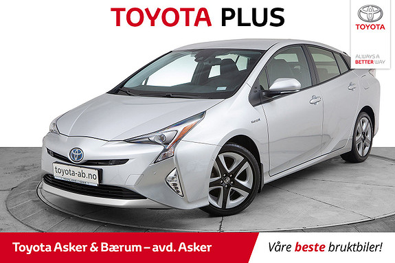 Toyota Prius 1,8 VVT-i Hybrid Executive  2016, 28800 km, kr 239000,-