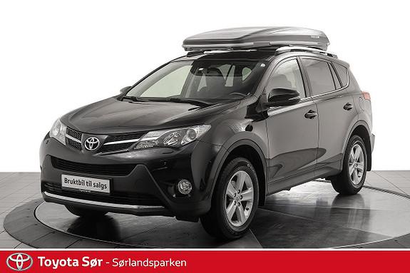 Toyota RAV4 2,0 D-4D 2WD Active m/hengerfeste  2013, 100500 km, kr 199000,-