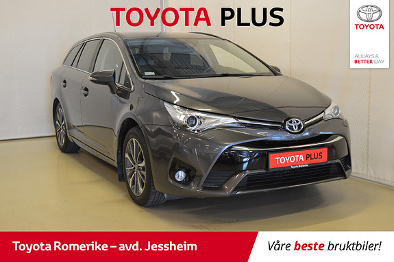 Toyota Avensis Touring Sports 1,8 Active M-drive S7 DAB+,  2017, 49278 km, kr 279000,-