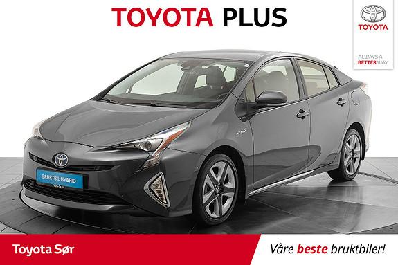Toyota Prius 1,8 VVT-i Hybrid Executive m/skinnseter  2016, 43000 km, kr 239000,-