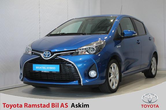Toyota Yaris 1,5 Hybrid Style e-CVT  2016, 87500 km, kr 169000,-