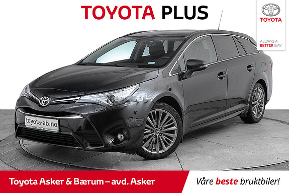 Toyota Avensis Touring Sports 1,8 Active Style M-drive 7S PANORAMATAK  2016, 48800 km, kr 256000,-