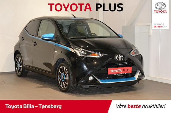 Toyota Aygo x-trend 1.0  2018, 7098 km, kr 159000,-