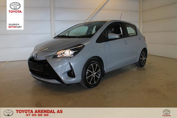 Toyota Yaris 1,5 Hybrid Life e-CVT aut sjekk prisen for en  2018, 14550 km, kr 189000,-