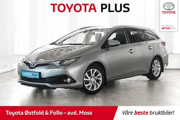 Toyota Auris Touring Sports 1,8 Hybrid Active S / HOVEDSERVICE TATT  2016, 59 900 km, kr 208 000,-