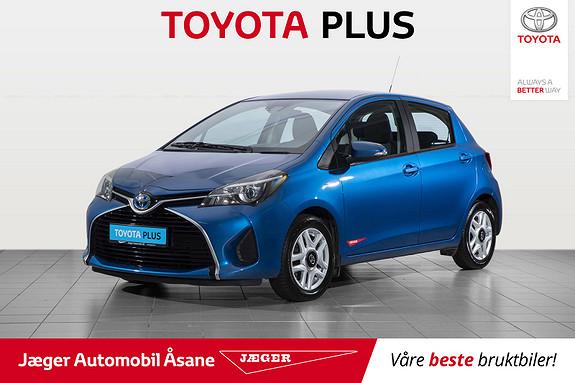 Toyota Yaris 1,5 Hybrid Active e-CVT  2015, 78000 km, kr 139000,-