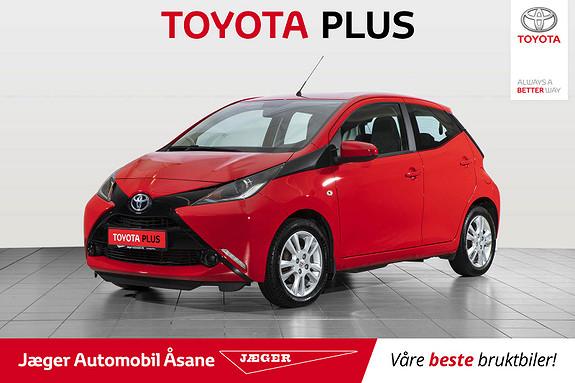 Toyota Aygo x-play 1,0  2017, 40200 km, kr 129000,-