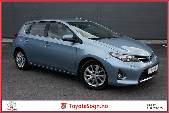 Toyota Auris 1,33 Dual VVT-i Active  2013, 66852 km, kr 129000,-