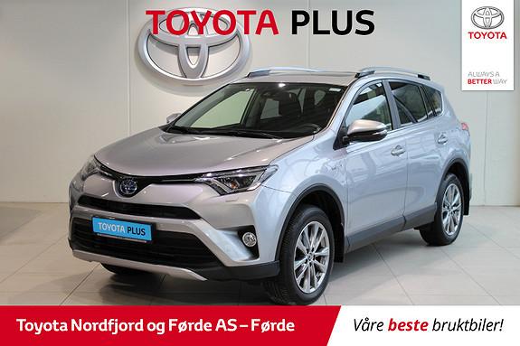 Toyota RAV4 Hybrid 4WD Executive Hengarfeste 197HK  2017, 14500 km, kr 445000,-