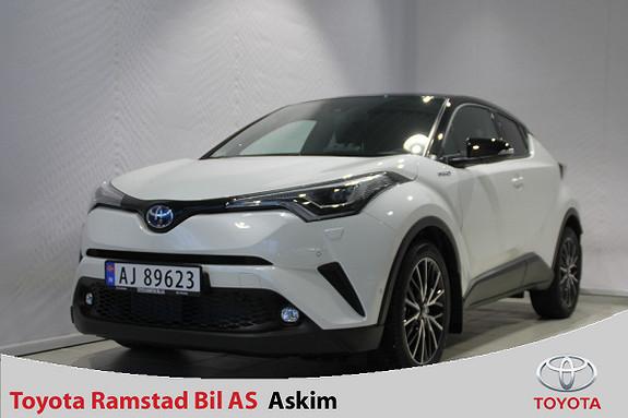 Toyota C-HR 1,8i Hybrid Lounge Tech  2019, 4900 km, kr 359000,-