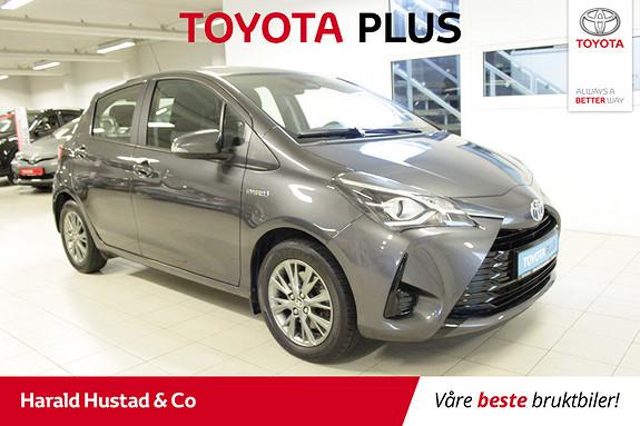 Toyota Yaris 1,5 Hybrid Active Go e-CVT aut Automat/DAB+/Navi/ryggek  2018, 24164 km, kr 209000,-
