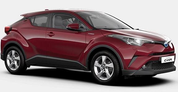 Toyota C-HR 1,8i Hybrid Active  2019, 40 km, kr 325000,-