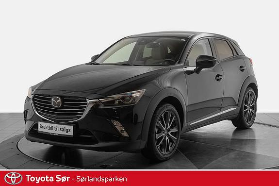 Mazda CX-3 2,0 150hk Optimum AWD aut skinnseter  2018, 15500 km, kr 329000,-