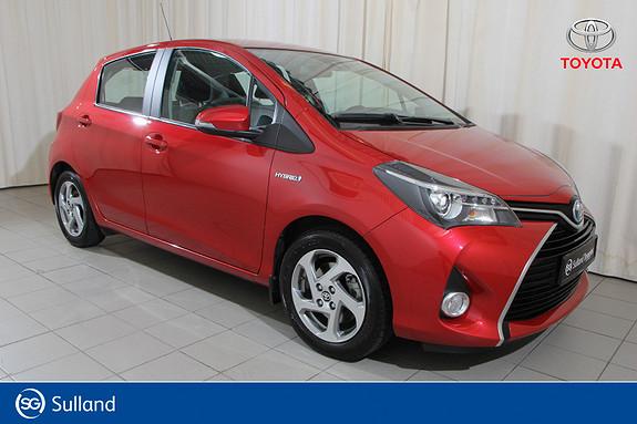 Toyota Yaris 1,5 Hybrid Active S e-CVT navi-ryggekamera-dab+-lav km  2016, 16700 km, kr 175000,-