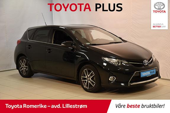 Toyota Auris 1,8 Hybrid E-CVT Active+  2015, 28722 km, kr 179000,-