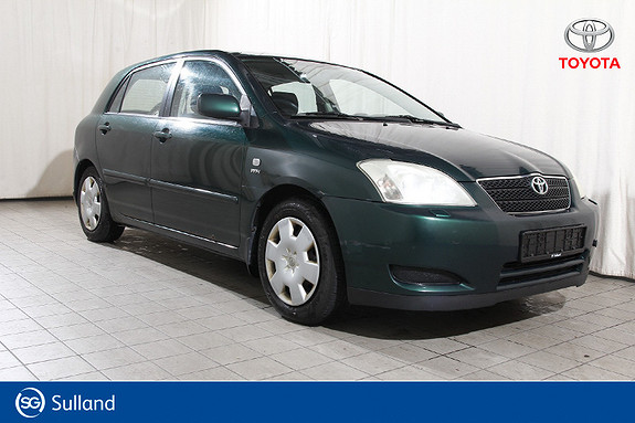 Toyota Corolla 1,6 Sol Billigbil - EU ok til 31.03.2020  2004, 266939 km, kr 12618,-