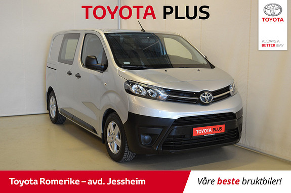 Toyota Proace 1,6 D 95 Basic L0H1 aut AUTOMAT, demontrasjonsbil  2018, 5022 km, kr 249000,-