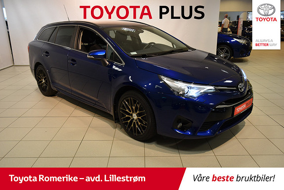Toyota Avensis Touring Sports 1,8 Active Style M-drive 7S  2016, 18 000 km, kr 259 000,-