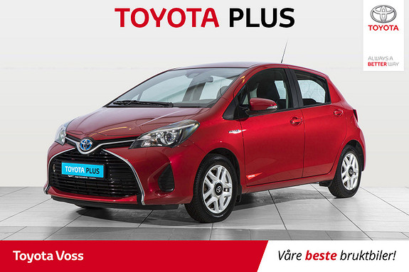 Toyota Yaris 1,5 Hybrid Active S e-CVT  2016, 74000 km, kr 159000,-