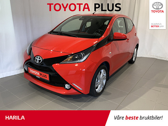 Toyota Aygo x-play 1.0 FANCY INTERIØR  2018, 9388 km, kr 159000,-