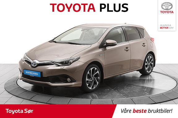 Toyota Auris 1,8 Hybrid E-CVT Style m/avtagbart hengerfeste  2016, 31646 km, kr 199000,-