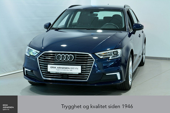 Audi A3 E-TRON PLUG-IN HYBRID *KAMPANJE*  2018, 40200 km, kr 269900,-