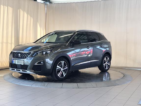 Peugeot 3008 GT Line 1,6 THP 165hk aut  2018, 22500 km, kr 419000,-