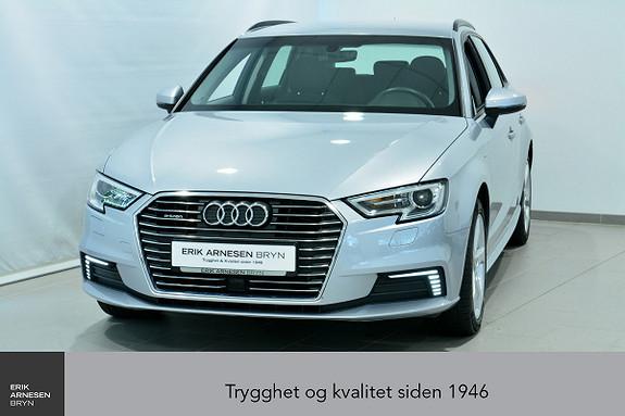 Audi A3 E-TRON PLUG-IN HYBRID *KAMPANJE*  2018, 40400 km, kr 269900,-
