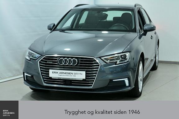 Audi A3 E-TRON PLUG-IN HYBRID *KAMPANJE*  2018, 23000 km, kr 278900,-