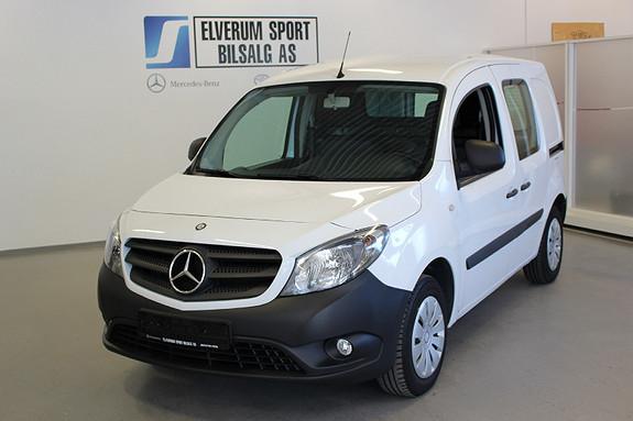 Mercedes-Benz Citan 109 CDI A2 . Lav km. / understellsbehandlet /  2014, 36300 km, kr 119000,-