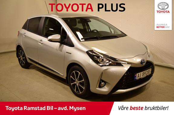 Toyota Yaris 1,5 Hybrid Active+ e-CVT aut  2018, 9800 km, kr 209000,-