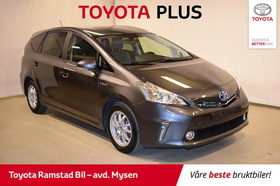 Toyota Prius+ Seven 1,8 VVT-i Hybrid Executive - SE KM. STAND!!  2014, 19100 km, kr 249000,-